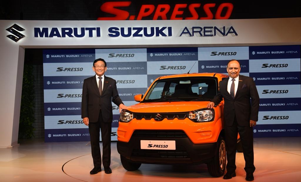 #NEW LAUNCH- MARUTI SPRESSO