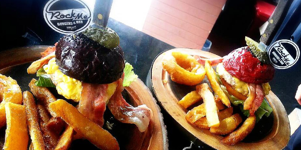 RockMe Burgers in ChiangMai