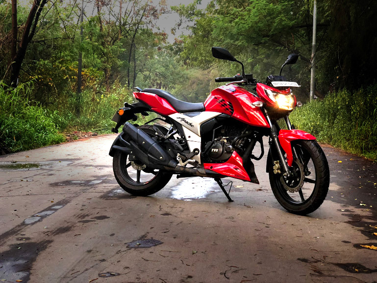 APACHE RTR 160 4V – THE POCKET ROCKET