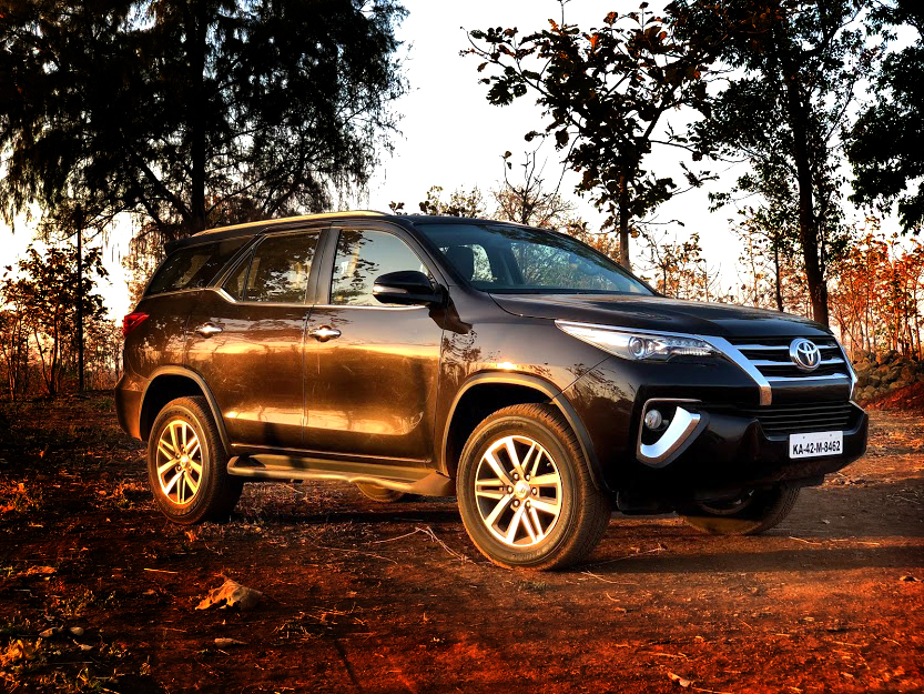 TOYOTA FORTUNER – THE CROWD FAVOURITE