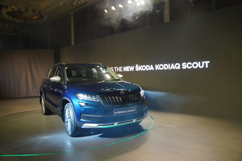 The newly launched ŠKODA KODIAQ SCOUT_1