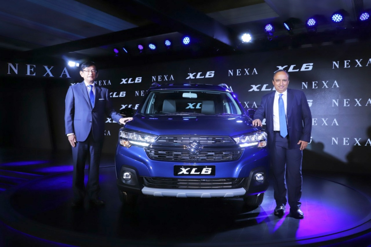 NEW LAUNCH-THE NEW MARUTI XL6