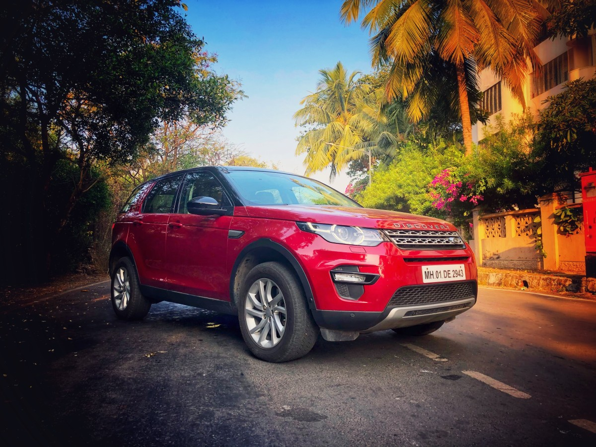 CITY BEATS WITH THE DISCOVERY SPORT