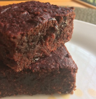 finger millet brownies