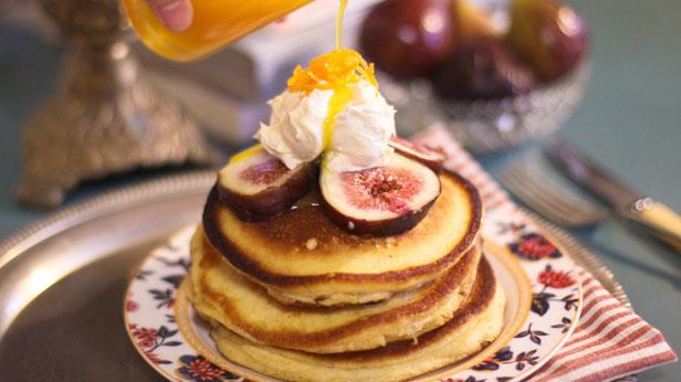 date and fig sorgham pancake