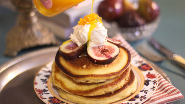 date and fig sorgham pancake