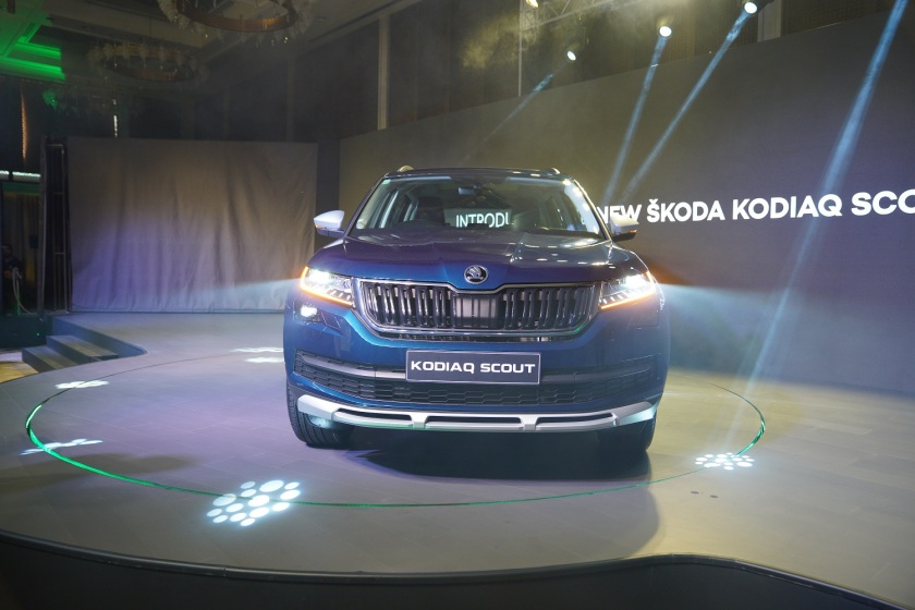 The newly launched ŠKODA KODIAQ SCOUT_2
